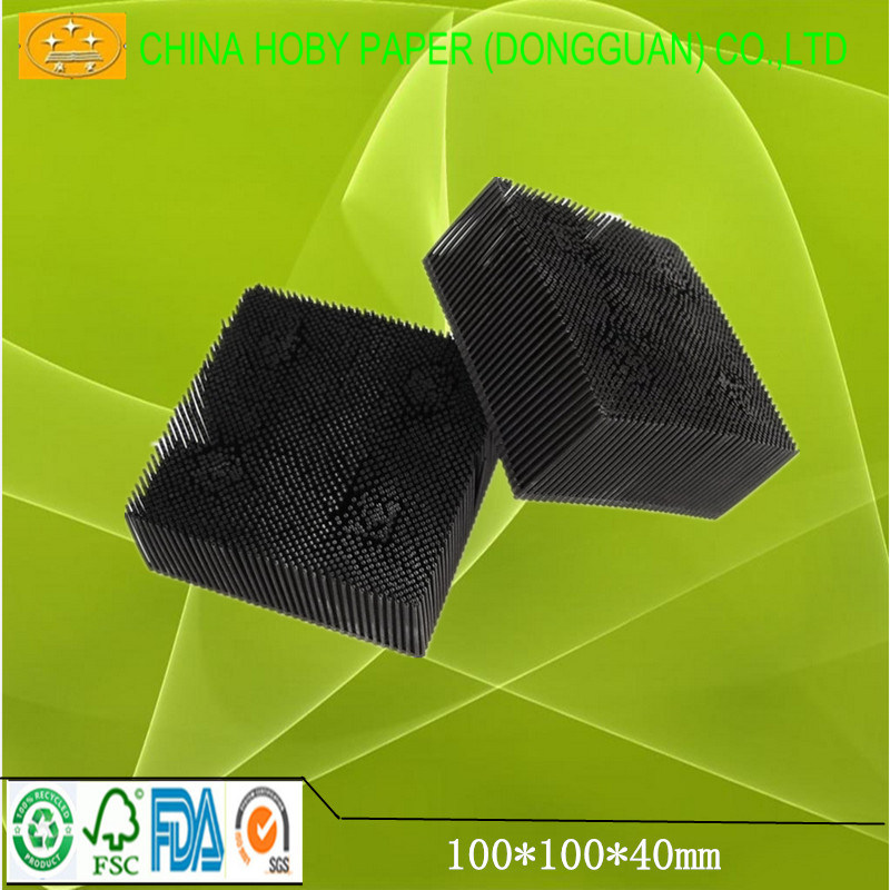 40*40*100mm Lectra Vt5000/7000 Nylon Bristle Stock