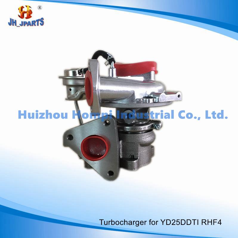 Auto Spare Parts Turbocharger for Nissan Yd25ddti Rhf4 14411-Vk500 Vd420058