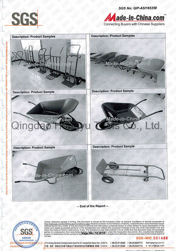 Beautiful&Cheap Garden Wheel Barrow, Building Wheelbarrow (WB6400BW)