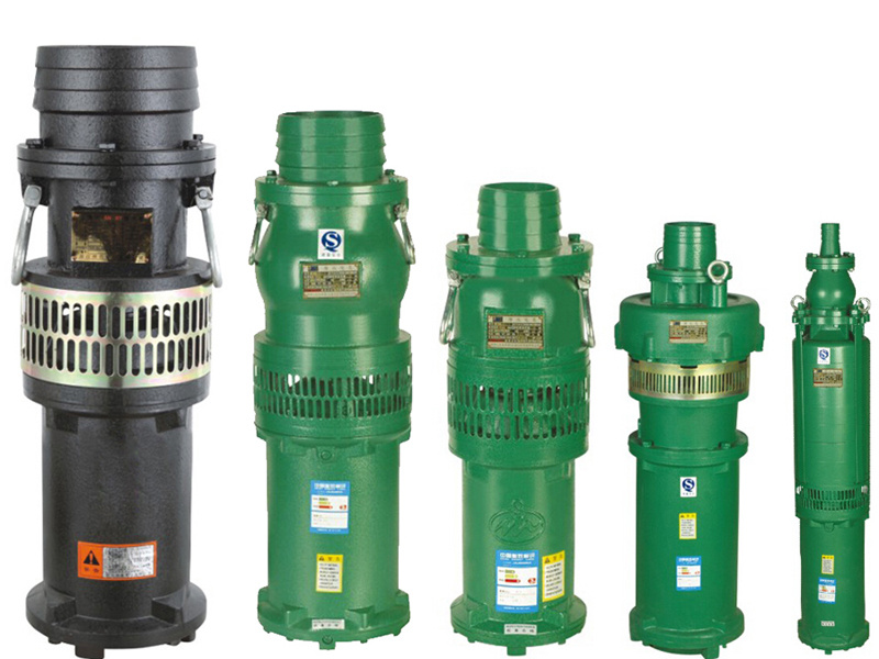 Electric Cast Iron Submersible Mine Water Pump (QY400-9-15)