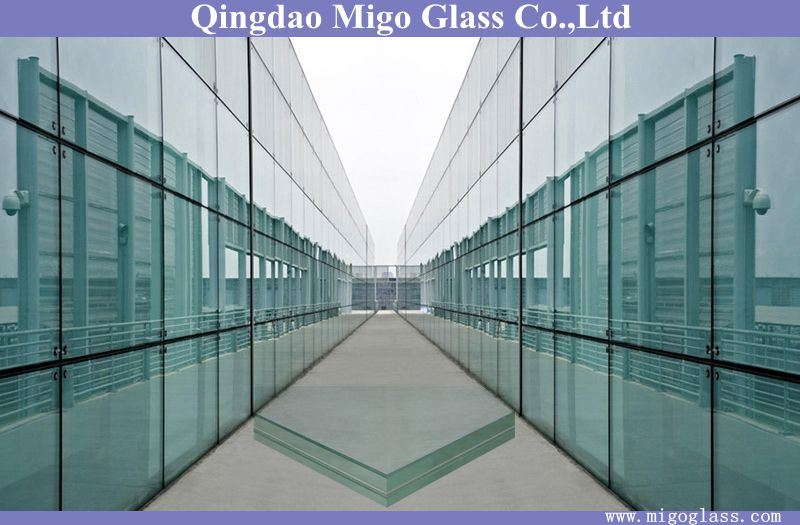 5mm+5mm Clear Laminated Glass for Building Windows and Doors