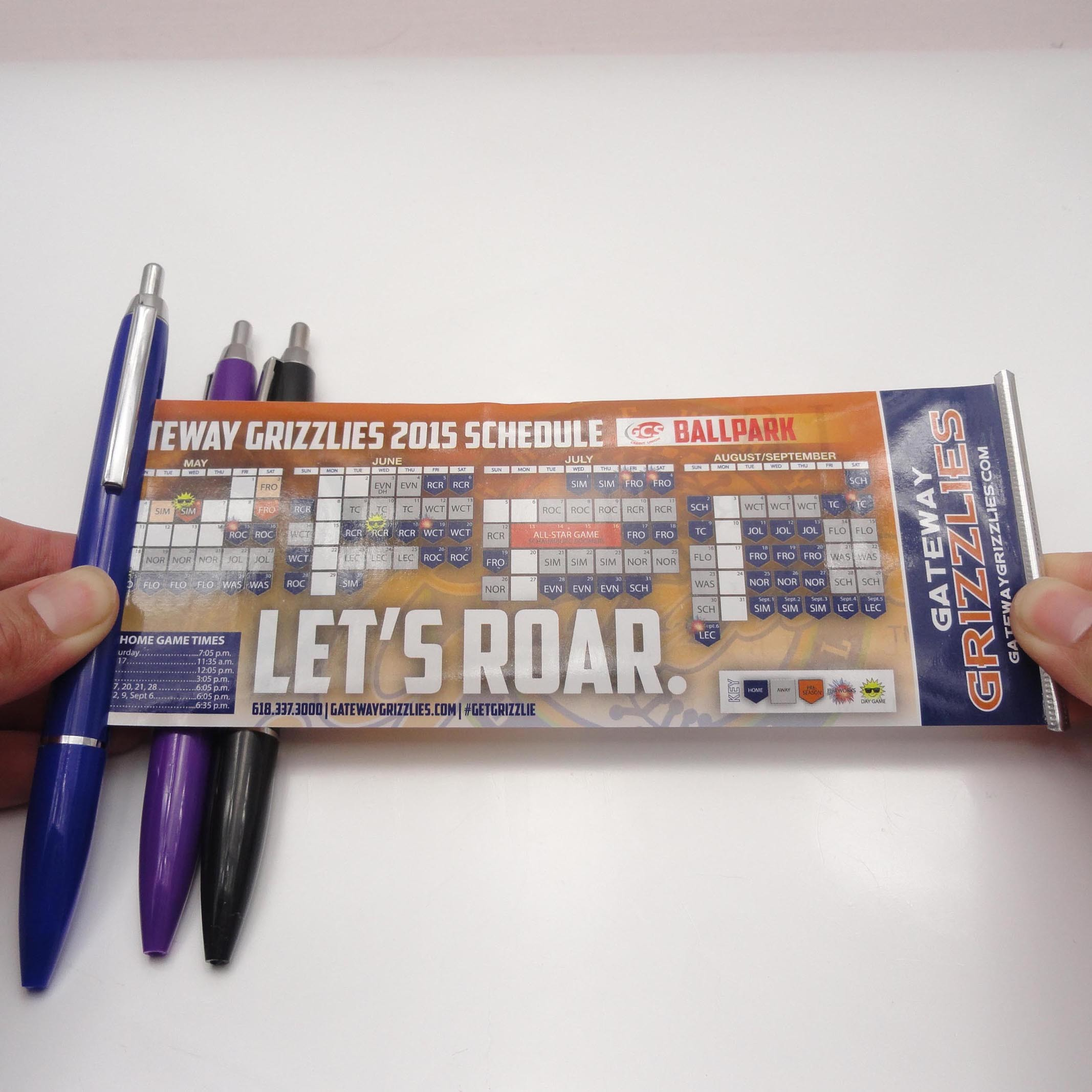Promotional Advertisting Banner Pen, Pull out Calendar Flag Pen (XL-9116)