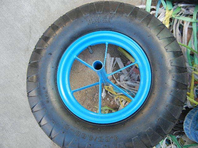 Qingdao Wheelbarrow Tire 400-8 Wheelbarrow Wheel