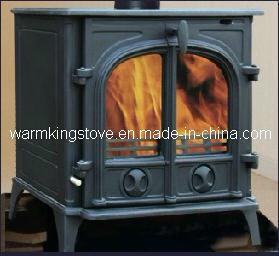 Cast Iron Wood Burning Stove (AM02-14K)