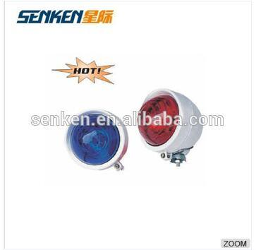 Red and Blue Strobe Light for Police Motorcycle
