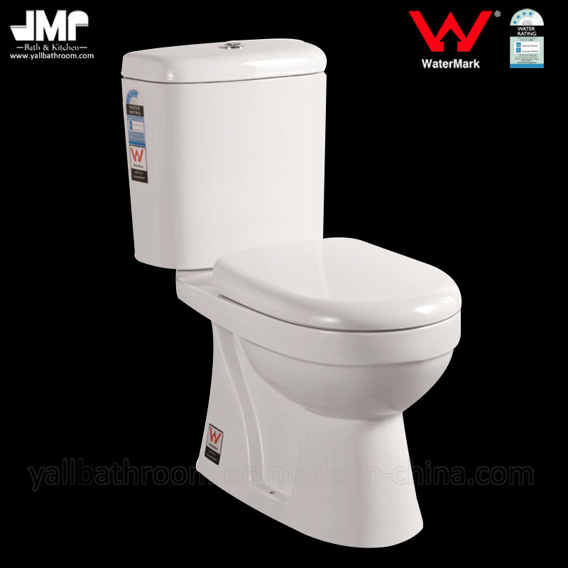 8004 Australian Standard Sanitary Ware Watermark 3/4.5L Dual Flush Two Piece Ceramic Toilet