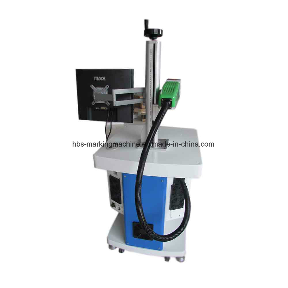 20W Raycus Laser Source Fiber Laser Marking Machine for Metal/Plastic/PU Marking