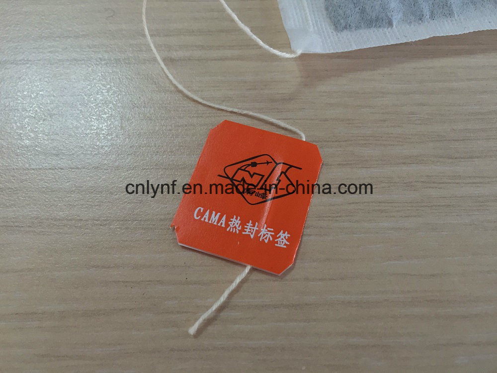 Heat Sealed Tag No Glue Option for Tea Bag Packing Machine