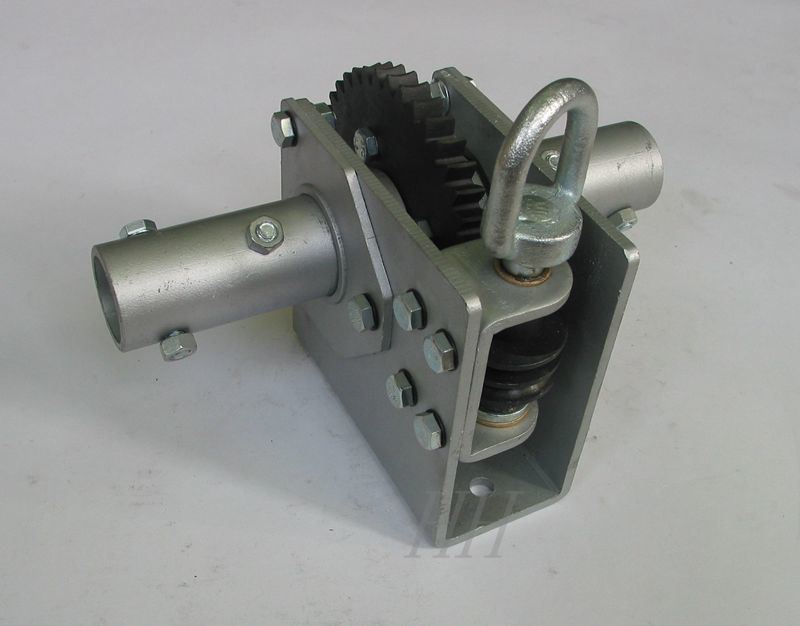 Loop-Drive Worm-Gear Hand Winch H-15pipe