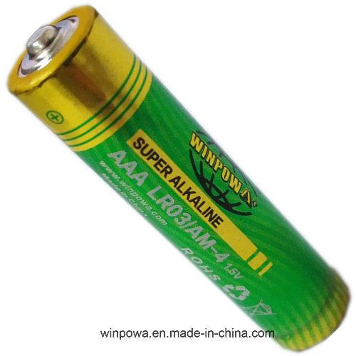 1.5V Alkaline Dry AAA Battery (LR03)