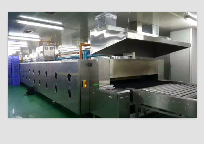 Central Heating Tunnel Oven for Bread Production Factory