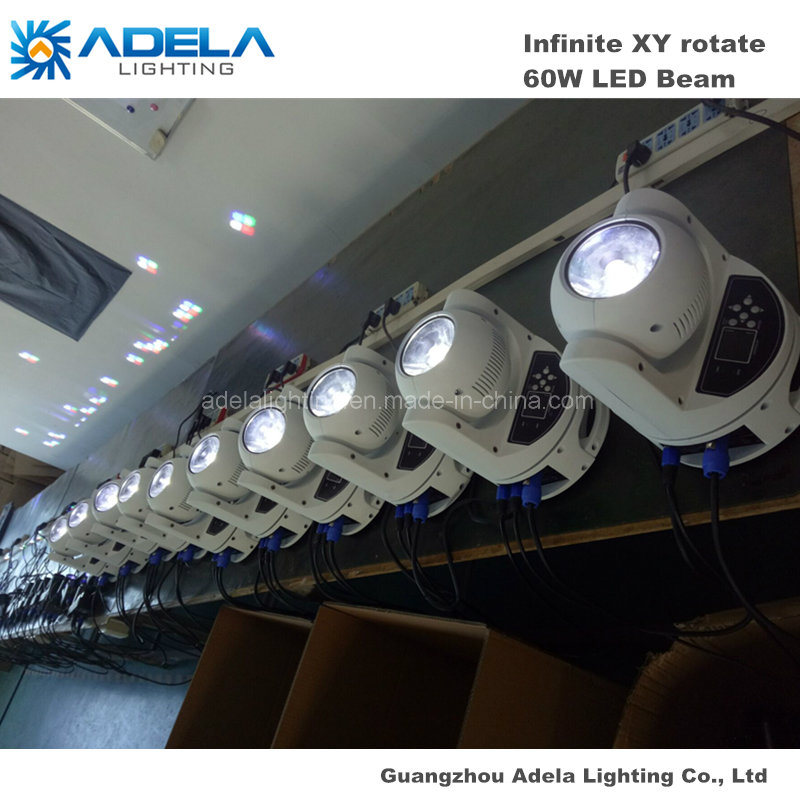 60W LED Infinite Moving Head Beam Light