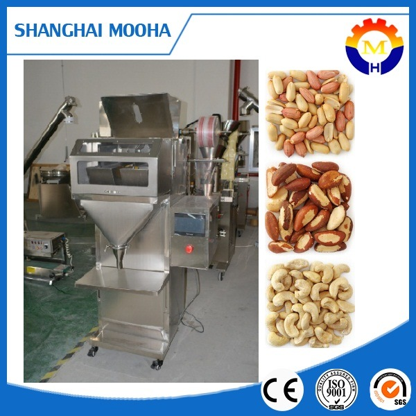Semi Automatic Nuts Beans Granule Weighing Filling Machine Granule Weigher