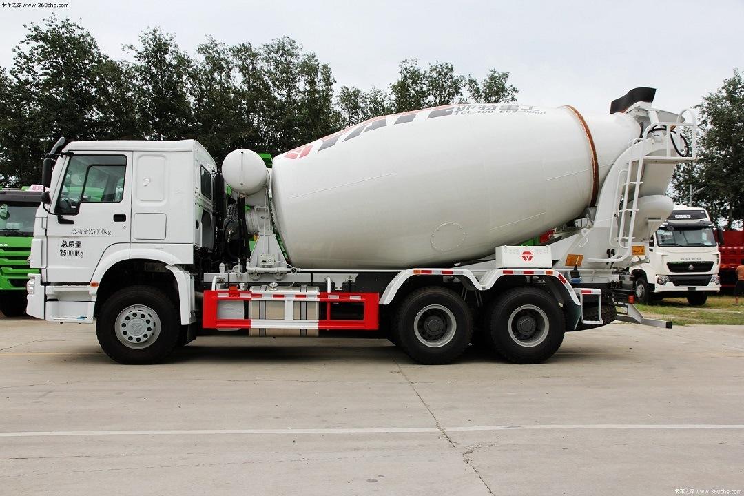 HOWO 6*4 8/9m3 Concrete Mixer Truck