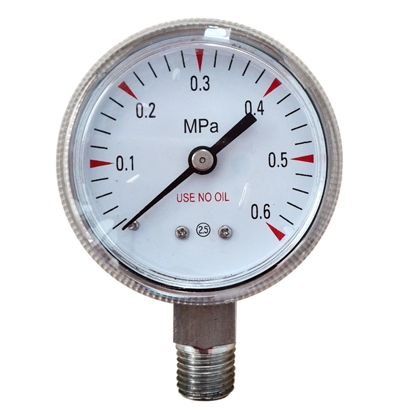 Use No Oil Pressure Gauge