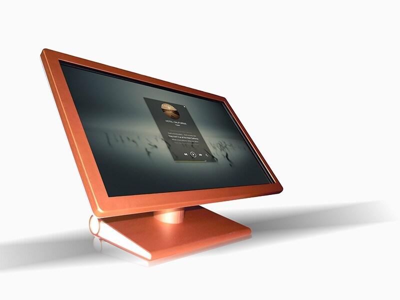 22inch Wireless WiFi Network LCD Menu Pop Advertisement Display for Restaurant