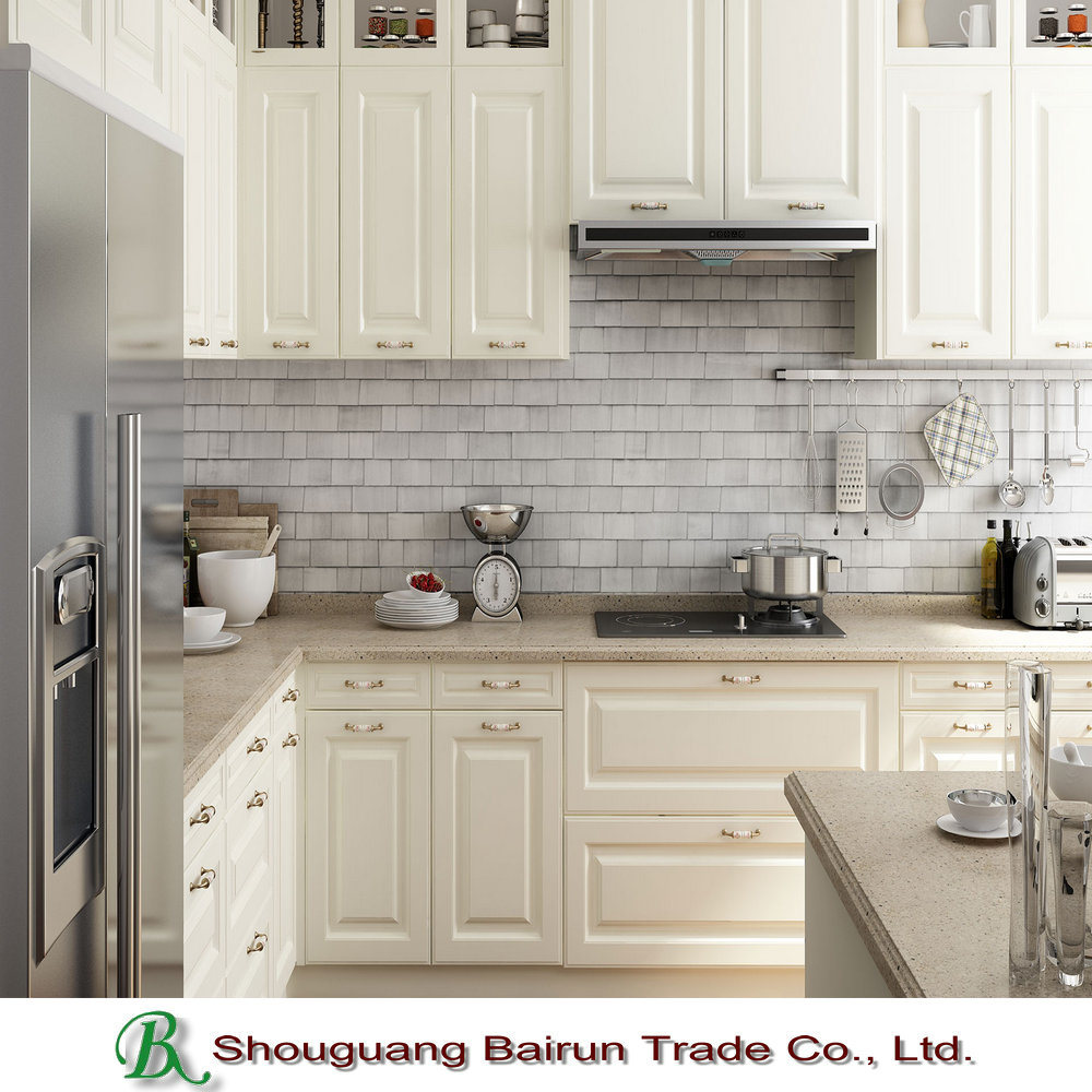 Kitchen Furniture Melamine Particle Board Ktichen Cabinet
