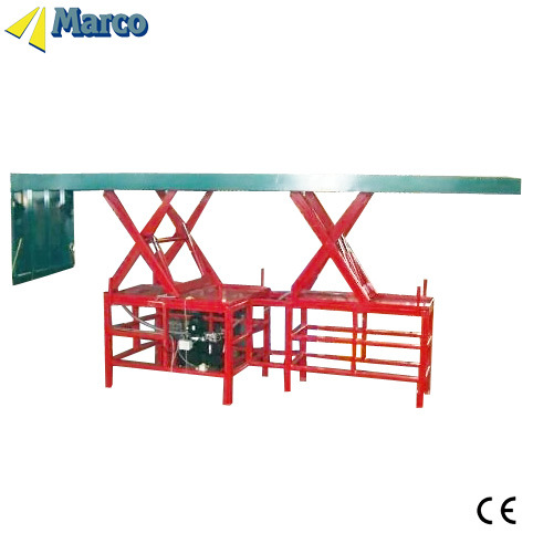 Marco Twin Scissor Lift Table with Loading Flap