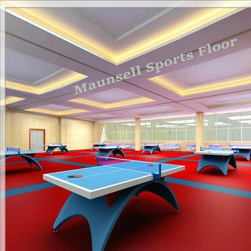 2017 Hot Sale PVC Sports Floor for Table Tennis