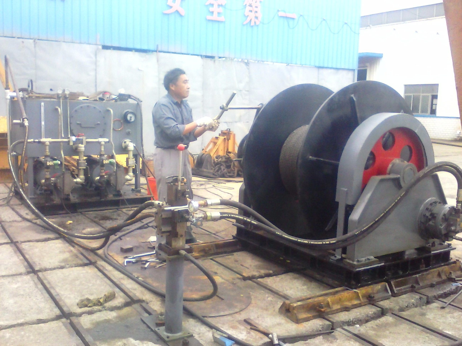 Electric Windlass for Boat, Slip Way, Ship, Dry Dock Electric Winches