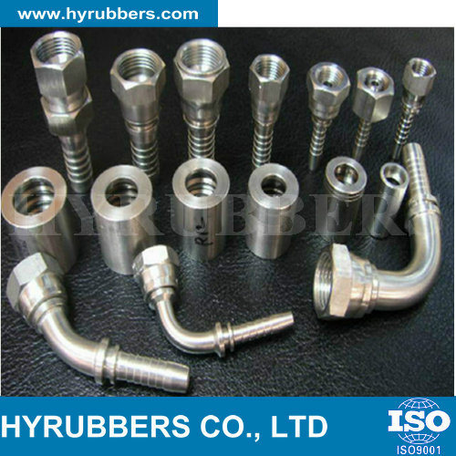 Factory Produced Rubber Hose Fitting, Hydraulic Hose Fitting, Hose Fitting
