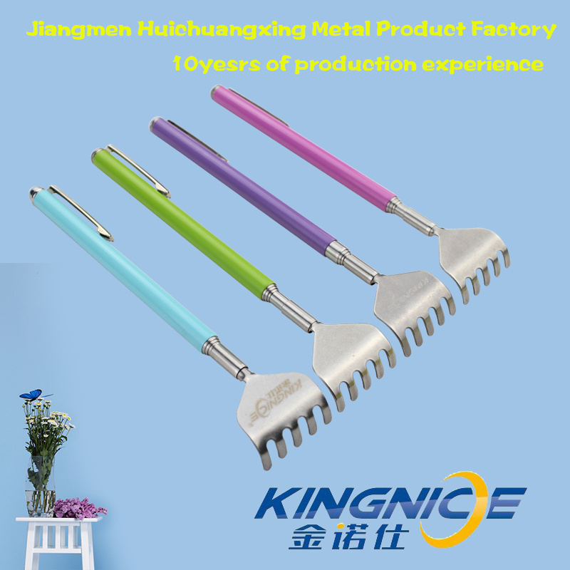 Stainless Steel High Quality Wholesale Customize Retractable Back Scratcher