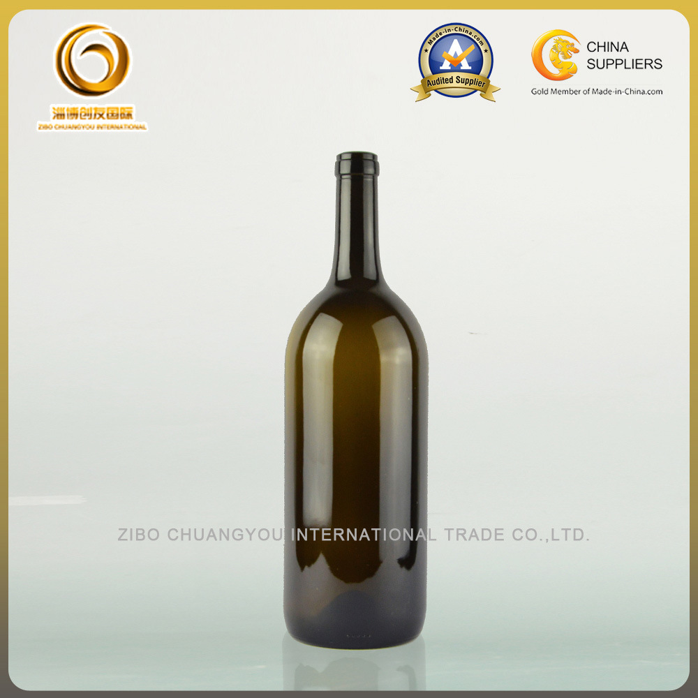 1500ml Large Bordeaux Red Wine Glass Bottle (036)