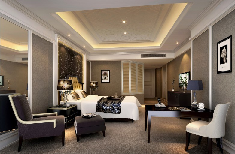 China hotel furniture luxury and morden star hotel for 5 star bedroom designs