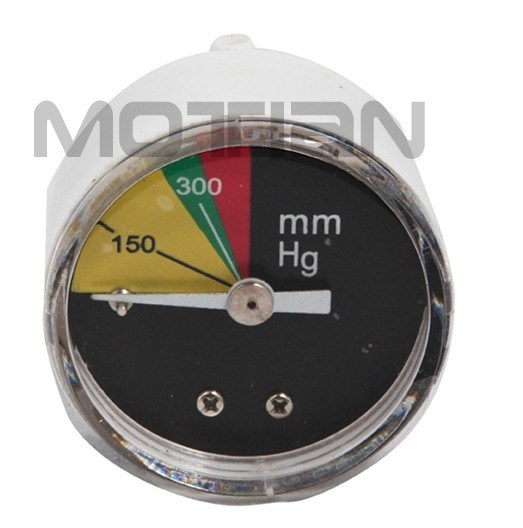 1.5 Inch Molded Plastic Cover Blood Pressure Gauge with Safety Requirement