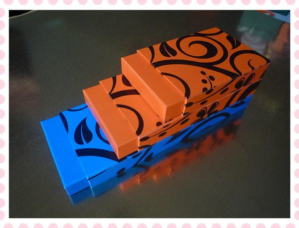 Colorful Customized Candy Chocolate Jewelry Cosmetic Jewellery Cardboard Packaging Paper Box Gift Box