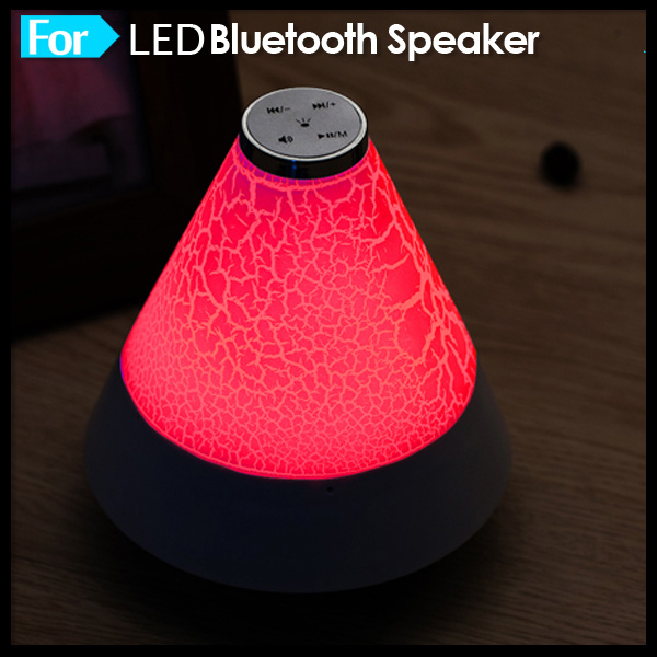 2016 Smartphone Cheap Mini LED Light Wireless Bluetooth Speaker