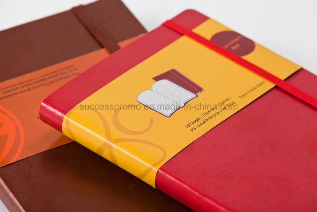 Wholesale PU Soft Cover Diary and Moleskine Notebook