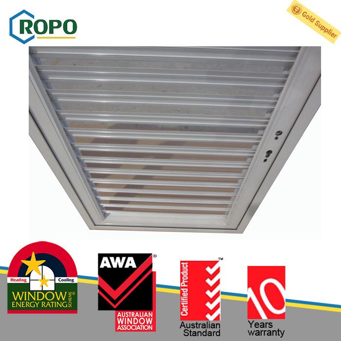 PVC/ Aluminum Profile Shutter Window