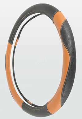 PVC with PU Car Steering Wheel Cover (BT7336)