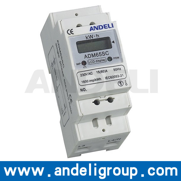 Single Phase Energy Meter (ADM65SC)