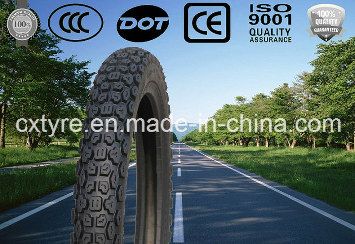 off Road Tyre Motorcycle Tyre (3.00-18 90/90-18)