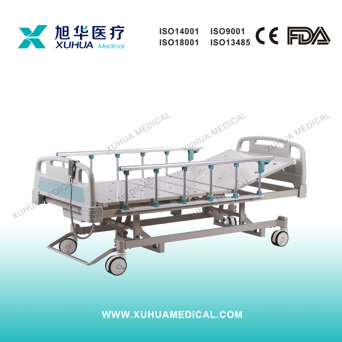 New Product, Three Functions Motorized Medical Bed (XH-16)