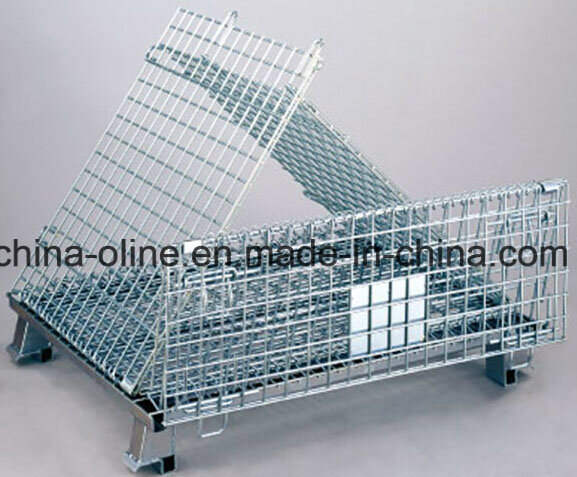 Roll Metal Steel Wire Basket/Storgae Cage