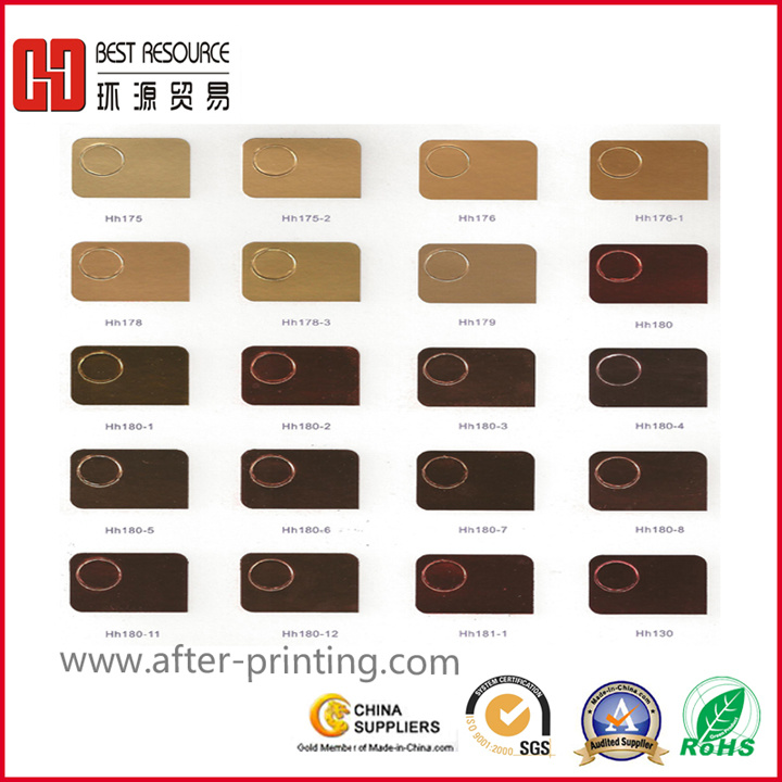 Hot Stamping Foil for Plastic (640MM*120M)