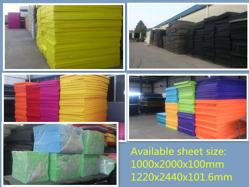 Large Size PE Foam Sheet for Auto Spare Parts Packaging