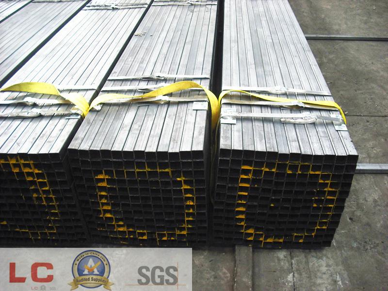 50mmx50mm Black Square Steel Tube