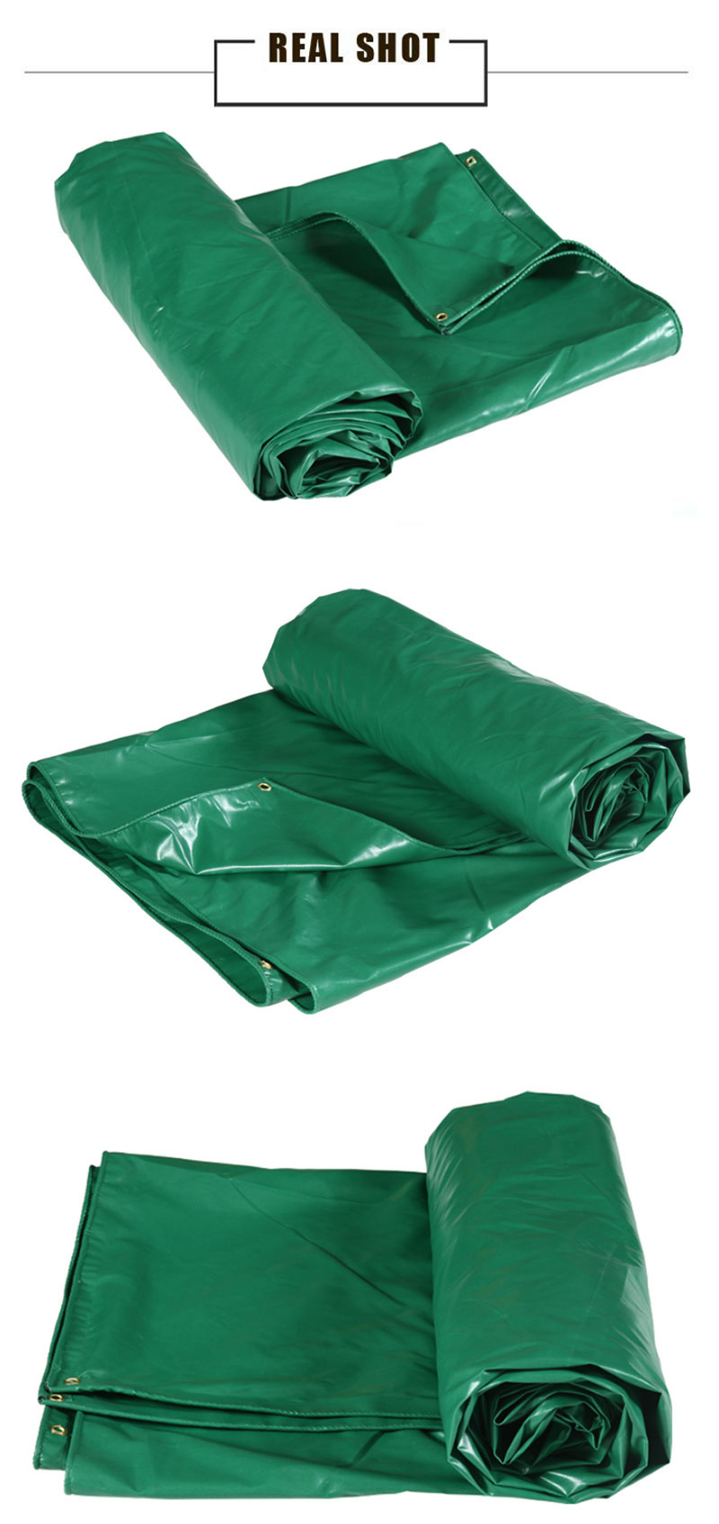 Heavy Duty Coated PVC Waterproof Tarpaulin/Tarp for Cover