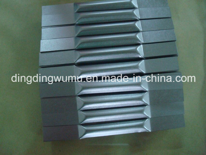 Pure Tungsten Boat for PVD Vacuum Evaporation Coating