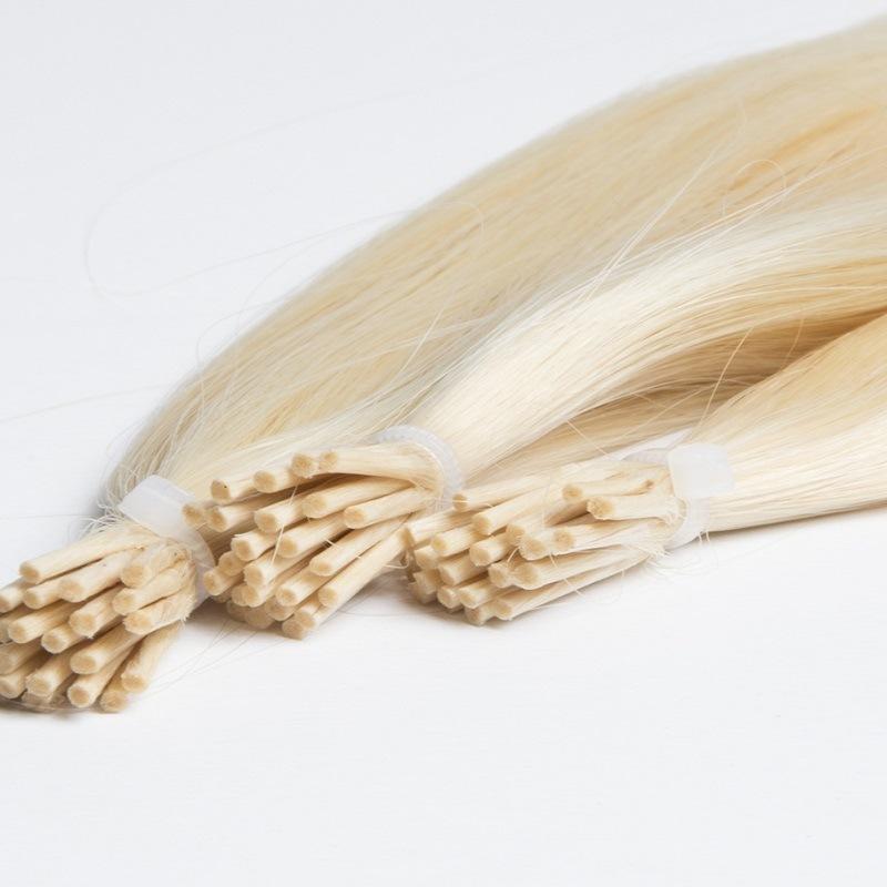 European Remy Keratin I Tip Stick Fusion Hair Extensions