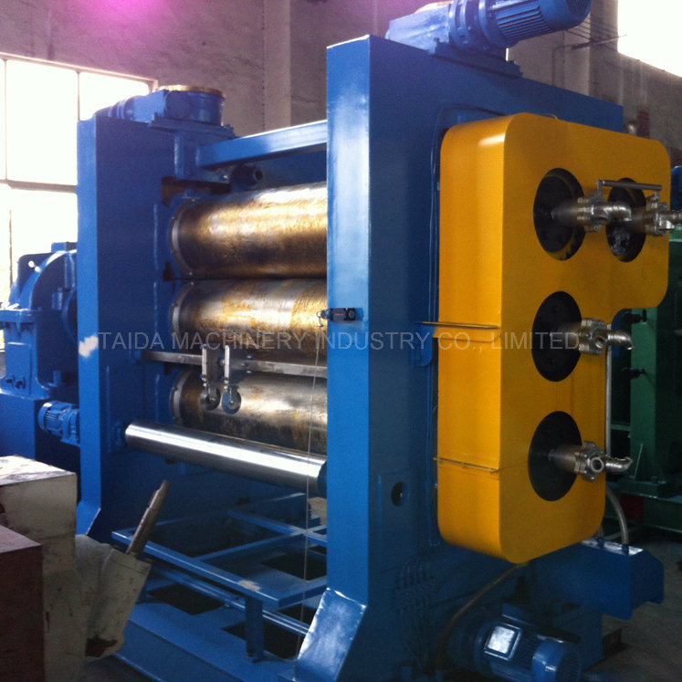 Xy-3/4f560X1600 Three Four Roll Rubber Sheet Calender Calendering Machine
