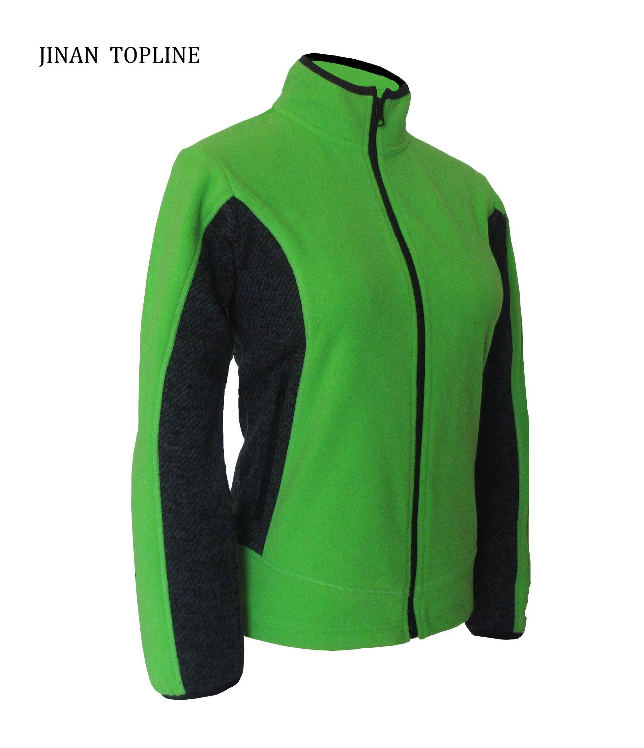 Women Micro Fleece Casual Jacket Outdoors Sports Wear
