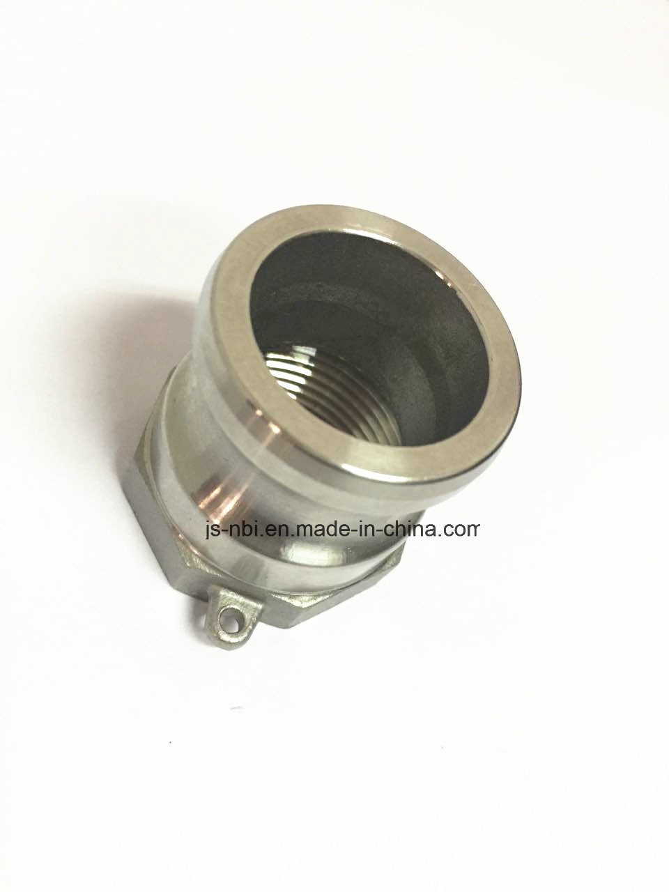 Polished Stainless Steel Quick Fitting / Quick Coupling