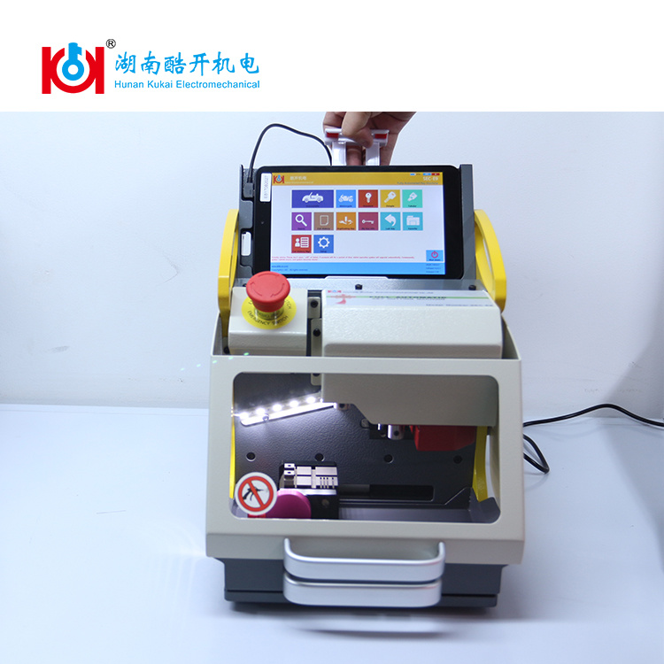 Ce Approved Automatic Key Cutting Machine Sec-E9 with Removable Tablet PC