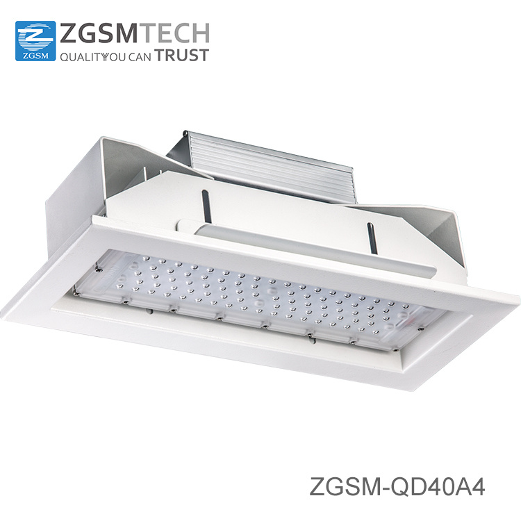 Inquiry About 40W to 160W IP66 LED Ceiling Recessed Canopy Light for Gas Station with Motion Sensor