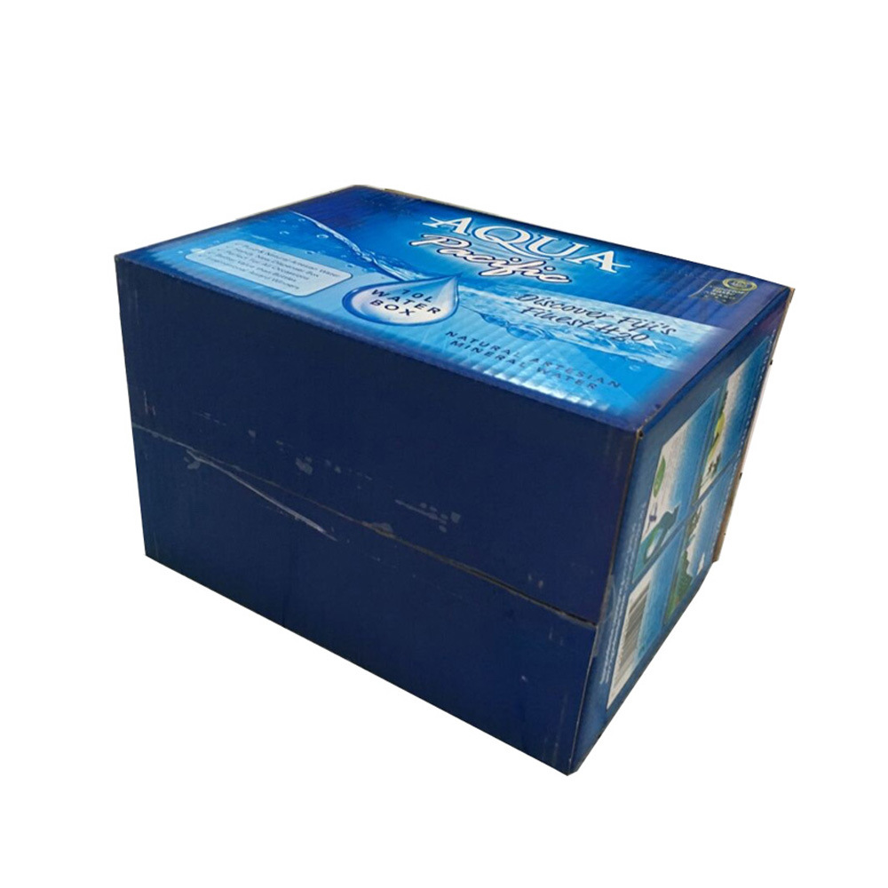 Custom Printing Corrugated Liquid Packing Box with Handle